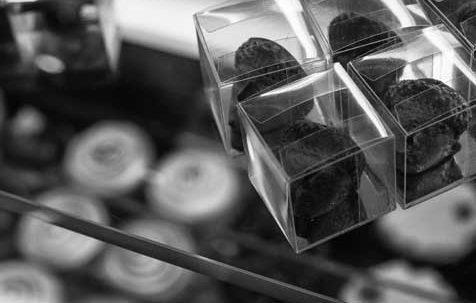 bonbons van soetenso (Callebaut chocolade)